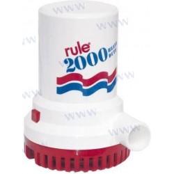 POMPE DE CALE RULE 2000-12V