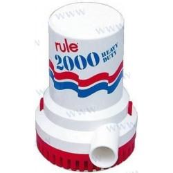POMPE DE CALE RULE 2000 24V