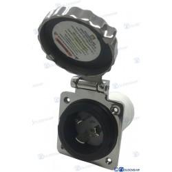 BASE INOX 50A  125V  3C
